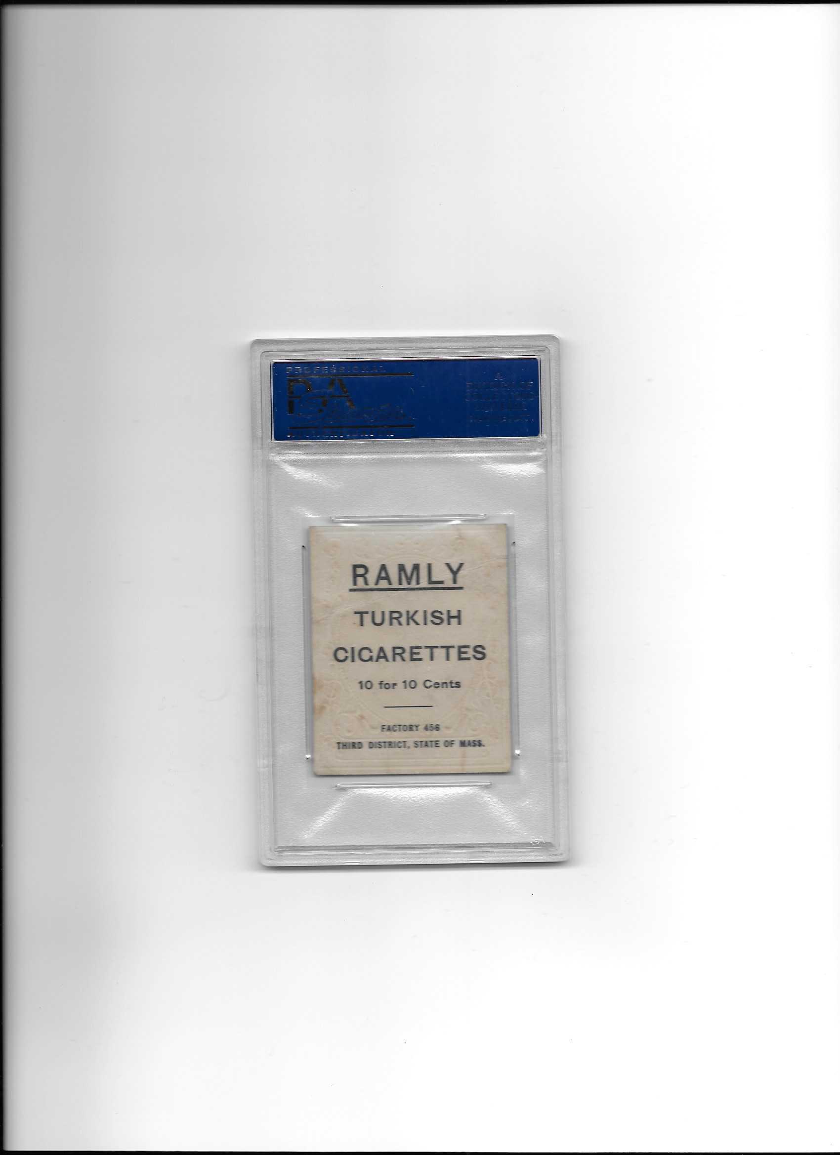 Lot Detail 1909 T204 Bill Sweeney Ramly Baseball Card Psa