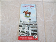 1946 Kentucky Derby Horse Racing program  Neat!