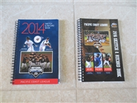 2014 Pacific Coast League Baseball Sketch and Record Book + 2016 Book