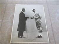 "1925 Casey Stengel meets King George photo 8"" x 10"""