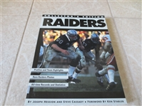 1994 Raiders Collectors Edition softcover book by Hession  profiles, photos, records, and stats