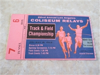 1962 Los Angeles Times Coliseum Relays Track and Field Championship