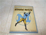 1924-25 University of Michigan Athletic Review Yearbook  Benny Friedman