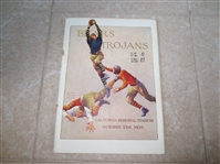 1926 USC at CAL football program with John Wayne (Marion Morrison)  WOW!