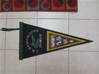 2002 Golf Senior Open Plush Large Pennant   Very Sharp!