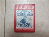 1917 Spaldings Winter Sports Library No. 28R by James Cruikshank