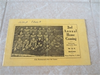 1914 Washington State College vs. Idaho College Football program Rogers Field