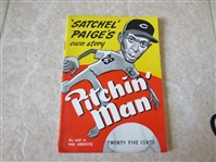 1948 Satchel Paiges Own Story Pitchin Man softcover book by Lebovitz