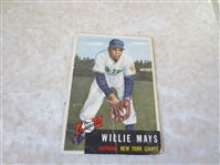 1953 Topps Willie Mays #244 baseball card