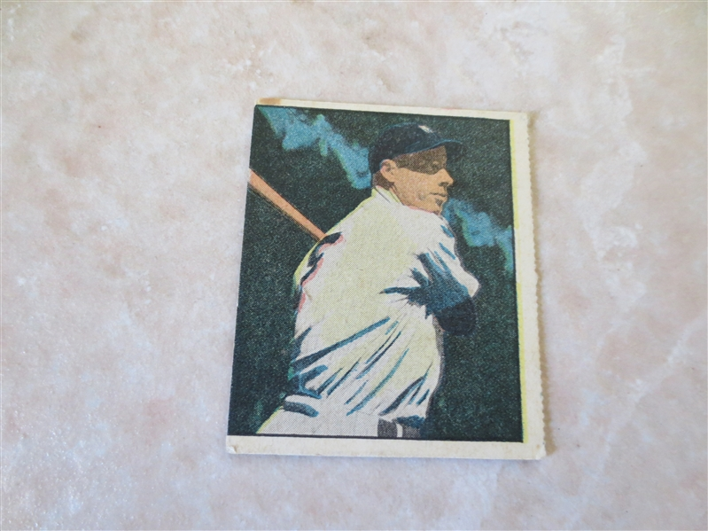 1951 Berk Ross Joe DiMaggio baseball card No. 2-5