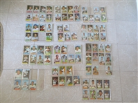 (140) 1954 Bowman baseball cards including Richie Ashburn  An nice start to the set!