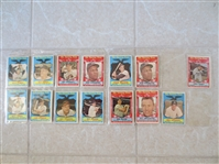(124) 1959 Topps baseball cards including Sporting News All Stars & Team cards  Very nice shape!