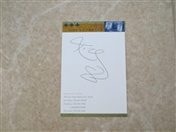 Kobe Bryant autograph #8  Early!