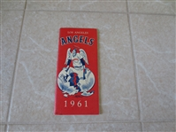 1961 Los Angeles Angels baseball media guide     FIRST ONE!