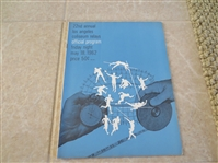 1962 22nd Annual Los Angeles Coliseum Relays Track and Field program