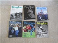 (6) 2011-2013 Kingdom Golf Publications Issues #19-21, 23, 24, 27 Arnold Palmer
