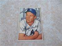 1952 Bowman Mickey Mantle baseball card #101  Nice shape!