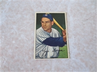 1952 Bowman Yogi Berra #1 baseball card  Very nice shape for 1st card in the set!