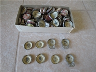 (100+) 1960s Football Coca Cola Bottle Caps with Hall of Famers and Stars
