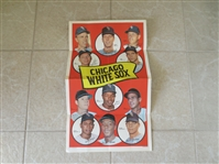 "1969 Chicago White Sox Topps Team Poster 12"" x 20"" Tough to find #11"