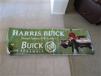 Huge 2002 Tiger Woods Harris Buick Scramble Golf Banner 6 x 2