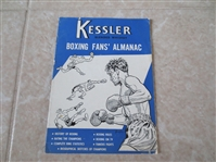 1953 Kessler Boxing Guide  Tough to find!