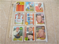 (20) different 1969 Topps High Number Baseball Cards (7th Series)  Super condition!  Send to PSA?