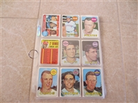 (50) different 1969 Topps Baseball Cards in Super condition!  Send to PSA?
