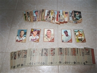 (150) 1962 Topps baseball cards with Joe Torre rookie, no last series