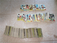 (250) 1961 Topps baseball cards with high numbers and team cards (no HOFers), very nice condition