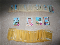 (300) 1968 Topps baseball cards including High numbers, rookies, and stars (no HOFers)  Super Condition!