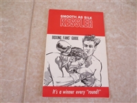 1960 Kessler Boxing Guide