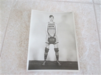 1926 American Basketball League Type I Wire Photo Fiddle Morley Boston Whirlwinds RARE