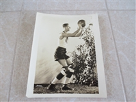 "1920s Joe Wallace ABL American Basketball League Photo by Apeda  8"" x 10"" RARE"