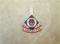 1958 Armour Tab A Yankee Fan   Very RARE!