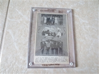 1925 Reach Babe Ruth, Ty Cobb, and more Baseball card