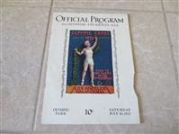 1932 Olympics Opening Day Ceremonies program