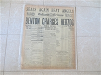 1919 Black Sox World Series Bribe Scandal Revealed Full Newspaper 9-23-1920