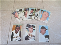 (14) 1964 Topps Giants baseball cards including Clemente, Yaz, Killebrew, Colavito in super condition