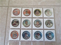 (12) 1964 Topps baseball coins--All Hall of Famers except Pete Rose!
