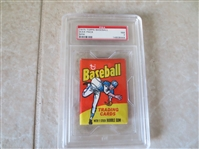 1975 Topps Baseball Wax Pack Mini PSA 7 near mint