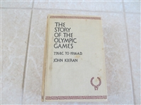 1936 The Story of the Olympic Games 776 B.C. to 1936 A.D. by John Kieran hardcover book