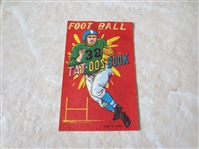 1950s Football Tat-oos Book made in Japan