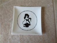 1960s The Playboy Club Advertising Ashtray  NEAT!