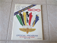 1972 Indianapolis 500 Auto Racing program  #56 in the series