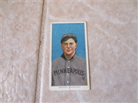 1909-11 T206 Lee Quillen Minneapolis Piedmont back 350 subjects Factory #25 baseball card