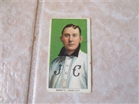 1909-11 T206 George Merritt Jersey City Polar Bear Factory #6 baseball card