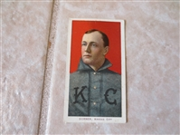1909-11 Gus Dorner Kansas City Polar Bear back Factory #6 baseball card
