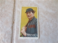 1909-11 T206 Vic Willis St. Louis with bat Piedmont 350 subject Factory #25 baseball card