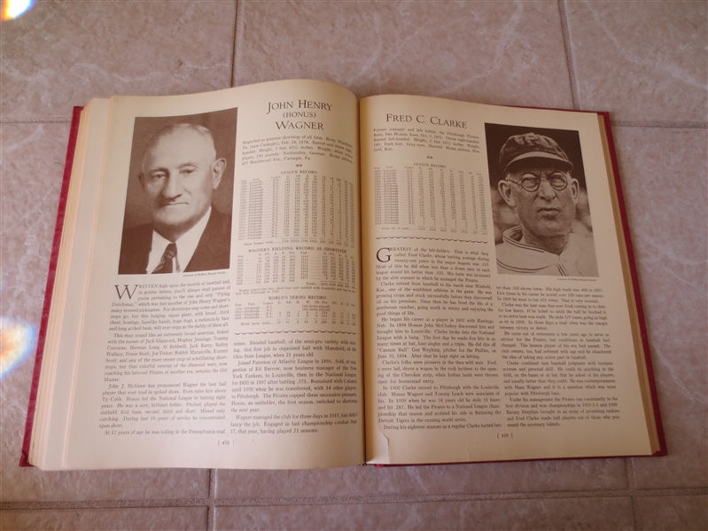 1933 Who's Who in Major League Baseball 1st Edition Harold Speed Johnson Very nice condition!